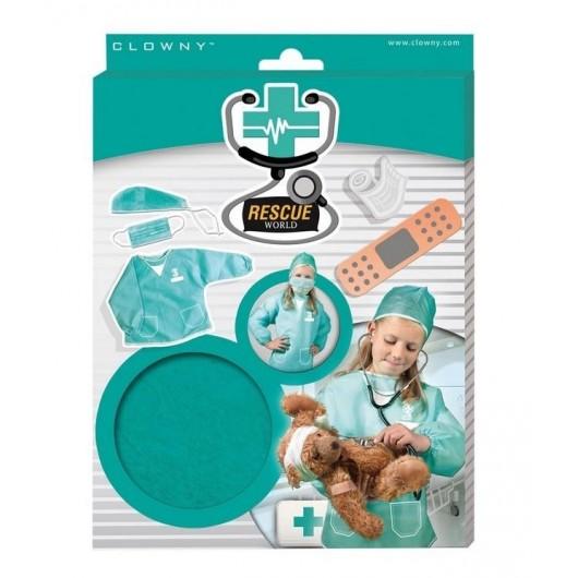 Zestaw małego lekarza - Strój lekarza Rescue