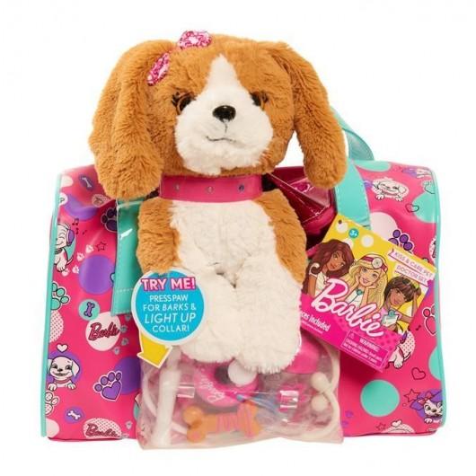 Barbie torba opiekunki zwierząt brązowy szczeniak
