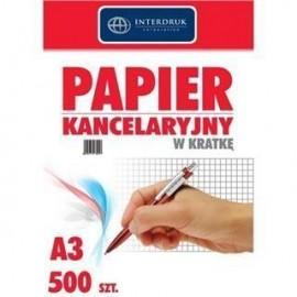 Papier kancelaryjny A3/500K kratka