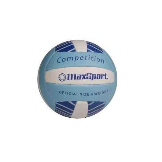 Piłka siatkowa Max Sport niebiesko-biała