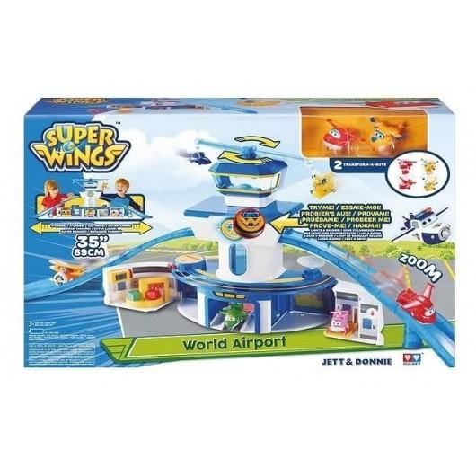 Super Wings Zestaw Lotnisko