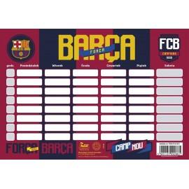 Plan Lekcji FC-118 Barca Fan 4 (25szt) ASTRA