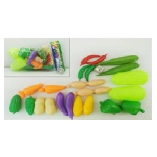 Warzywa w zestawie 20 sztuk