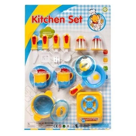 Naczynia kuchenne 17el
