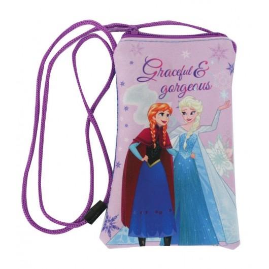 Pokrowiec na telefon ze sznurkiem Frozen