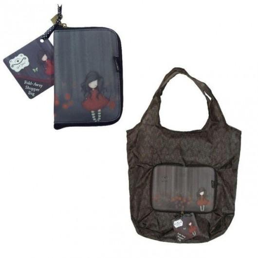 Składana torba na zakupy - Poppy Wood