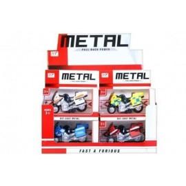 Motocykl metalowy