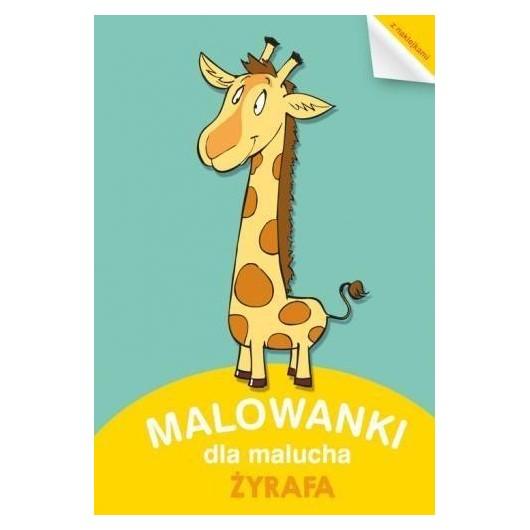 Malowanki dla Malucha. Żyrafa