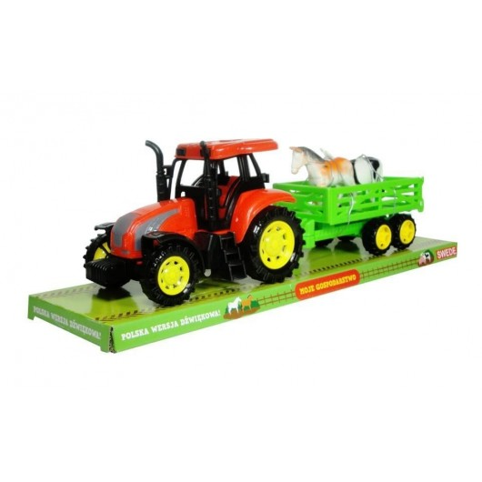 Moje gospodarstwo - Traktor z przyczepą i zwierz 2