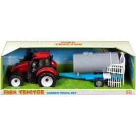 Traktor plastikowy z cysterną