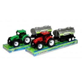 Traktor z przyczepą 2