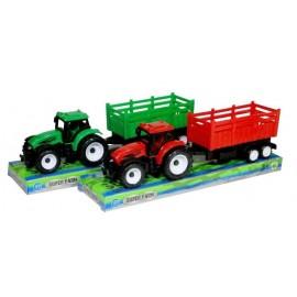 Traktor z przyczepą 3
