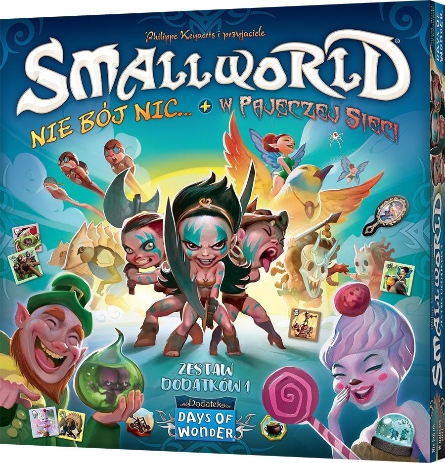 Small World: Nie bój nic+W pajęczej sieci REBEL