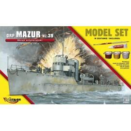 """Okręt Artyleryjski ORP """"MAZUR"""""""