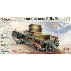 "Czołg ""VICKERS E MK B"""