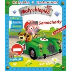 Samochody. Książka z zadaniami. Mały chłopiec
