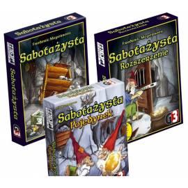 Sabotażysta - edycja podstawowa + rozszerzenie + pojedynek