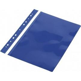 Skoroszyt A4 PVC z europerforacją niebieski(10szt)