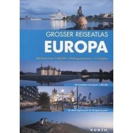 Atlas samoch. EUROPA 1:1 800 000 +49 miast DEMART