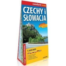 Comfort! map Czechy i Słowacja mapa samochodowa