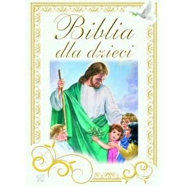 Biblia dla dzieci - zielona szata