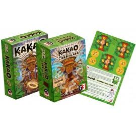 Kakao + Czekolada + Wulkany (zestaw)