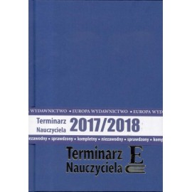 Terminarz Nauczyciela 2017/2018 TW EUROPA