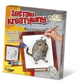 Zestaw Kreatywny do malowania - Myszoskoczek