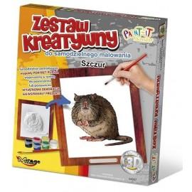 Zestaw Kreatywny do malowania - Szczur