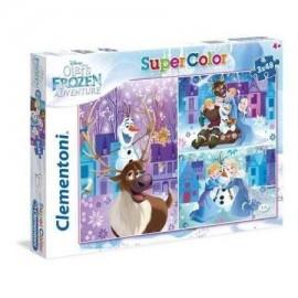 Puzzle 3x48 Olaf Frozen