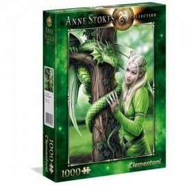 Puzzle 1000 Anne Stokes Collection Kindred Spirits