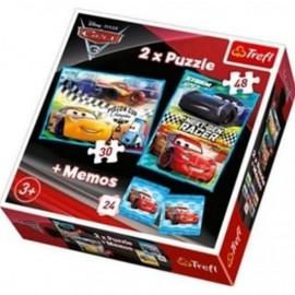 Puzzle 2w1+ memos - Wyścig nowej generacji TREFL