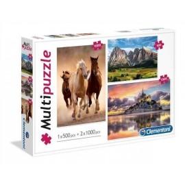 Puzzle 1x500 + 2x1000 SL Mix