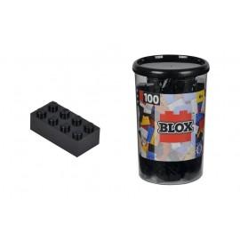 Blox 100 Klocki w pojemniku czarne