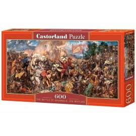 Puzzle 600 Bitwa pod Grundwaldem CASTOR