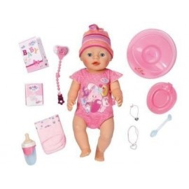 Baby born - Lalka interaktywna - Dziewczynka