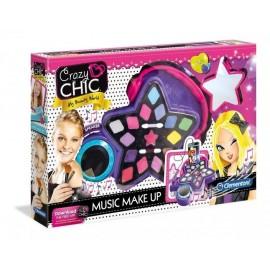 Crazy Chic Muzyczny Makijaż