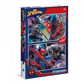 Puzzle 2x60 Spider-Man
