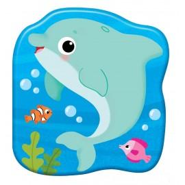 Książeczki kąpielowe. Delfin Plum