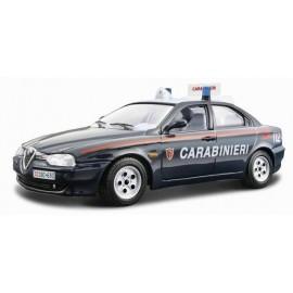 Alfa Romeo 156 Carabinieri 1:24 BBURAGO