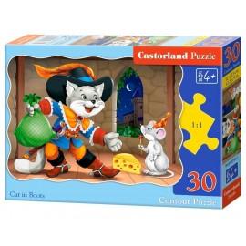 Puzzle 30 Cat in Boots CASTOR