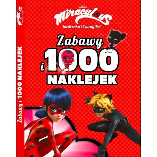 Biedronka i Czarny Kot. Zabawy i 1000 naklejek