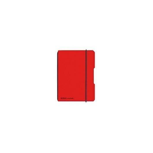 Notatnik A6/40K kratka My.BookF czerwony