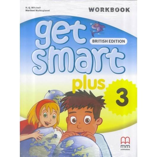 Get Smart Plus 3 WB + CD MM PUBLICATIONS