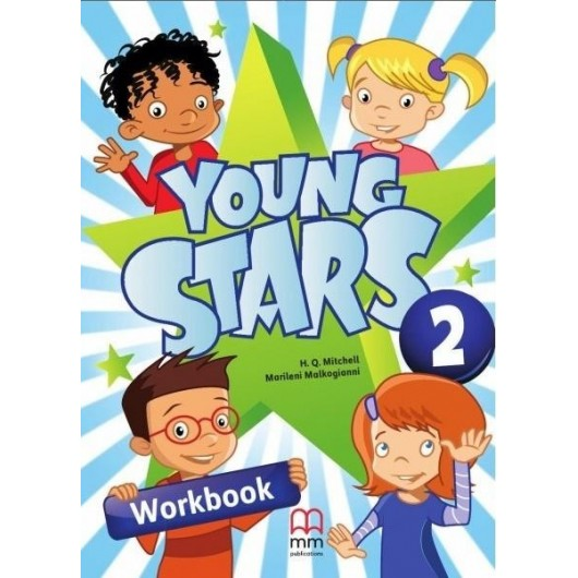 Young Stars 2 WB + CD MM PUBLICATIONS