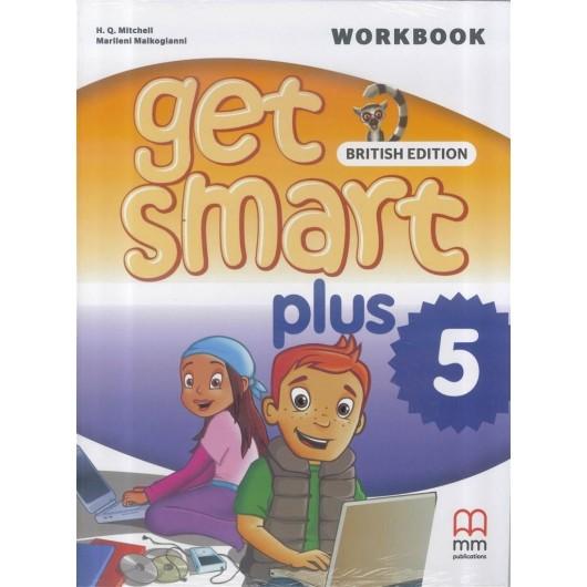 Get Smart Plus 5 WB + CD MM PUBLICATIONS