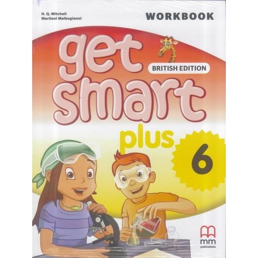 Get Smart Plus 6 WB + CD MM PUBLICATIONS