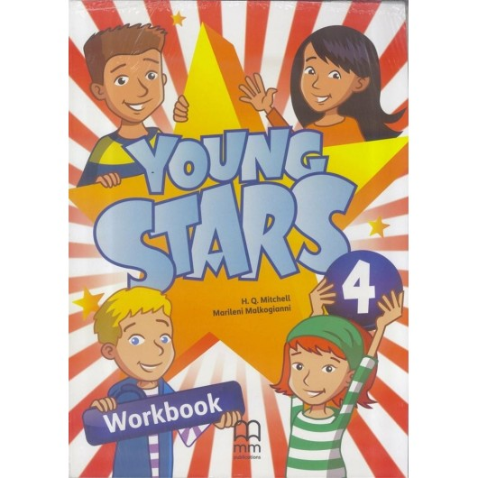 Young Stars 4 WB + CD MM PUBLICATIONS
