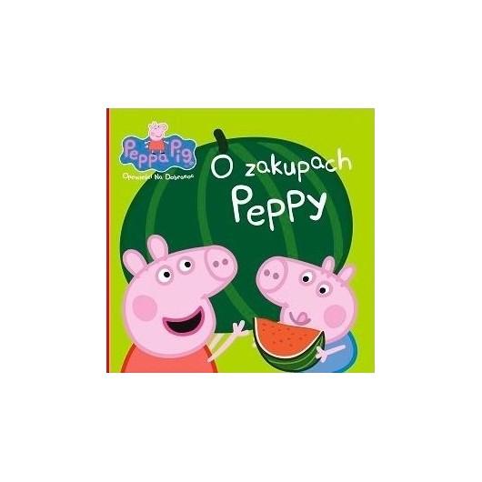 Świnka Peppa. Opowieści na dobranoc. O zakupach