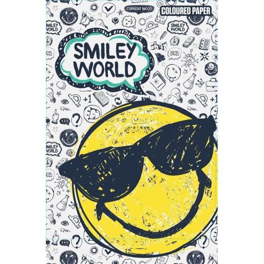 Papier kolorowy A4/20K Smiley
